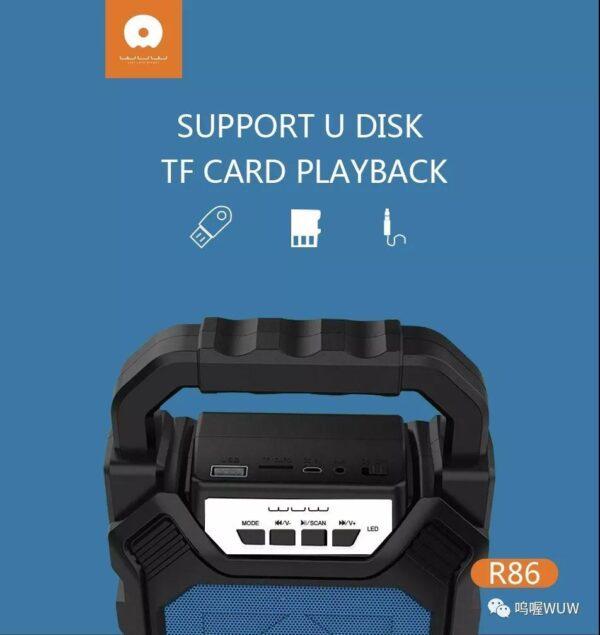 اسپیکر همراه WUW R86