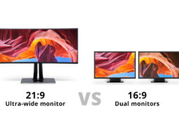Ultra-wide-monitor-vs-Dual-monitors