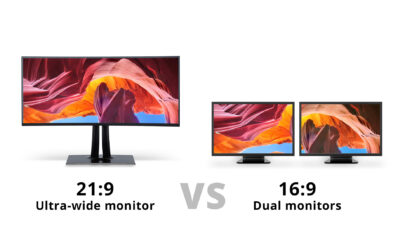 Ultra-wide-monitor-vs-Dual-monitors